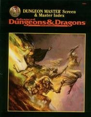Dungeon Master Screen & Master Index