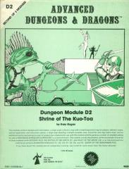 Shrine of the Kuo-Toa (2nd-5th Printings)