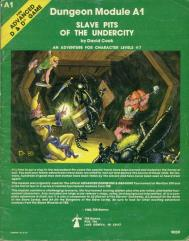 Slave Pits of the Undercity (1st-2nd Printings, Wizard Logo)