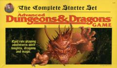 AD&D - The Complete Starter Set (Large Yellow Box)