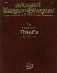 Complete Thief's Handbook, The (1st Printing)