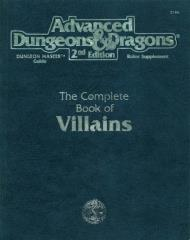 Complete Book of Villains, The (1st Printing)