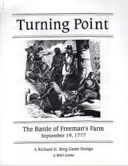 Turning Point - The Battle of Freeman's Farm 1777