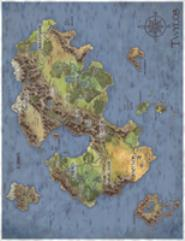 Map of Twylos