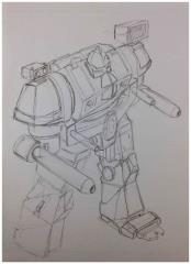 Battletech Unused Concept Art - Untitled #31
