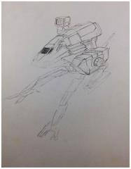 Battletech Unused Concept Art - Untitled #20