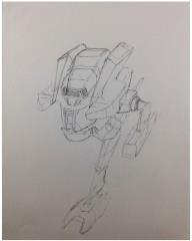 Battletech Unused Concept Art - Untitled #24