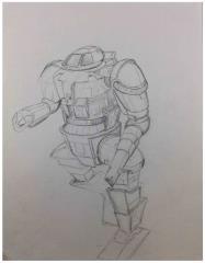 Battletech Unused Concept Art - Untitled #13