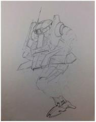 Battletech Unused Concept Art - Untitled #15