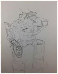Battletech Unused Concept Art - Untitled #22