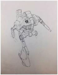 Battletech Unused Concept Art - Untitled #6
