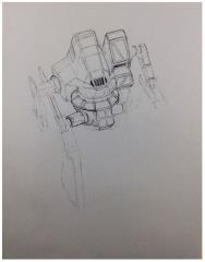 Battletech Unused Concept Art - Untitled #2