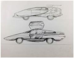 Unused Vehicle Concept Art #3