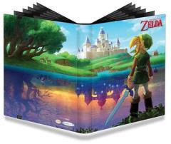 Pro-Binder - 9 Pocket Pages, Legend of Zelda - A Link Between Worlds