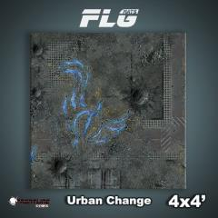 4' x 4' - Urban Change