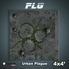 4' x 4' - Urban Plague