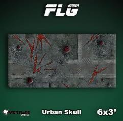 6' x 3' - Urban Skull