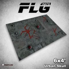 6' x 4' - Urban Skull