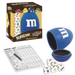 Yahtzee - M&M's Travel Edition, Blue
