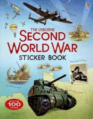 Usborne Second World War Sticker Book, The