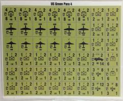 Panzer Leader/Blitz - USA Green Paratroopers #4 w/101st Airborne