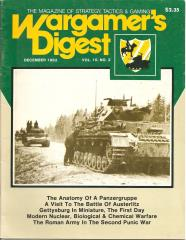 "Vol. 10, #2 ""The Anatomy of a Panzergruppe, Gettysburg in Miniature, The Roman Army in the Second Punic War"""