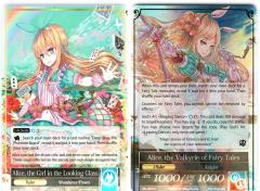 Alice, the Valkyrie of Fairy Tales/Alice the Girl in the Looking Glass (R)