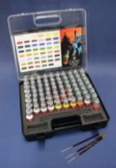 Game Color - 72 Paints Set w/Brushes