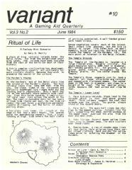 "Vol. 3, #2 ""Ritual of Life Scenario, Lake Dragon Stats, Moon Base Clavius"""