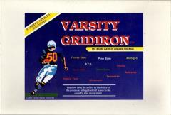 Varsity Gridiron