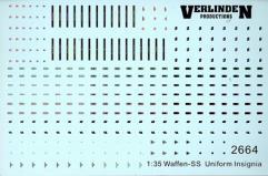 Decals - Waffen-SS Uniform Insignias (1:35)