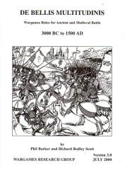 De Bellis Multitudinus - Wargames Rules for Ancient and Medieval Battles 3000BC - 1500AD (Version 3.0)