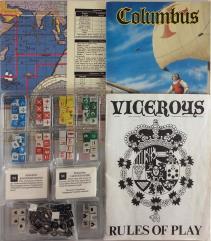 Viceroys! 2-Pack, Base Game + Columbus Expansion!