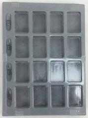 Counter Tray - Gray (Victory Games Bookcase Size)