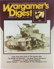 "Vol. 11, #4 ""Tank & Anti-Tank in the Desert War, The Battle of Bzevlad, Choppers"""