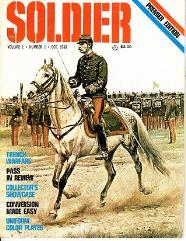 "Vol. 1, #1 ""Trench Warfare, Killer Gun, Napoleon's Lancers"""