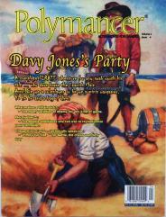 """Vol. 2, #4 """"Davy Jones's Party, What Makes a Villain Tick, Psionics"""""""