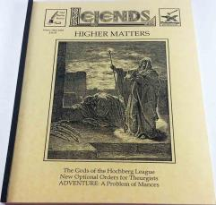 """Vol. 2, #15 """"Gods of the Hochberg League, Optional Orders for Theurgists"""""""