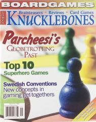 "Vol. 2, #5 ""Parcheesi's Past, Top 10 Superhero Games, Swedish Conventions"""