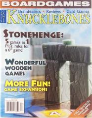 "Vol. 2, #4 ""Stonehenge, Wooden Games, Game Expansions"""