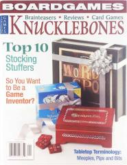 "Vol. 3, #1 ""Stocking Stuffers, Game Inventors, Tabletop Terminology"""
