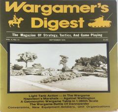 "Vol. 5, #11 ""Battle of Dannwerder, Light Tank Action"""