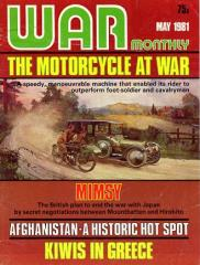 """#88 """"The Motorcycle at War, Mimsy, Kiwis in Greece"""""""