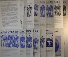 Volunteers - Civil War Gaming Newsletter Collection - 17 Issues!