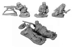 Africa Korps Light MG Heavy MG