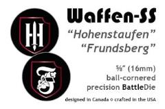 16mm Waffen-SS 9th/10th SS Panzer Divisions