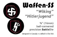 16mm Waffen-SS 5th/12th SS Panzer Divisions (2)