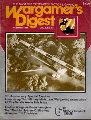 "Vol. 6, #12 ""US Glider Infantry Regiment, The German Luftwaffe"""