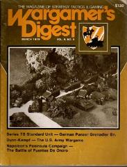"Vol. 6, #5 ""The U.S. Army Wargame - Dunn/Kempf Developed for Training"""