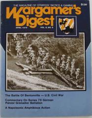 "Vol. 6, #6 ""The Battle of Bentonville, Panzer Grenadier Battalion"""""